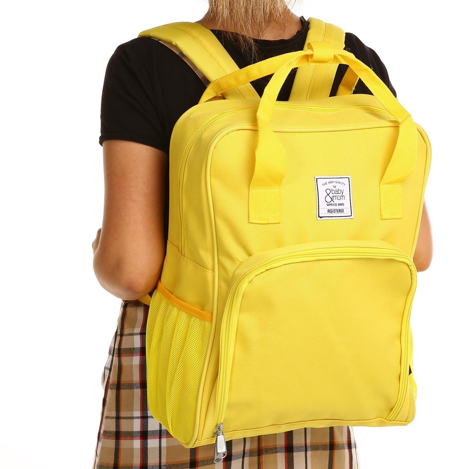 Ebebek Babymom Baby&Mom Multipurpose Rainbow Backpack Bag