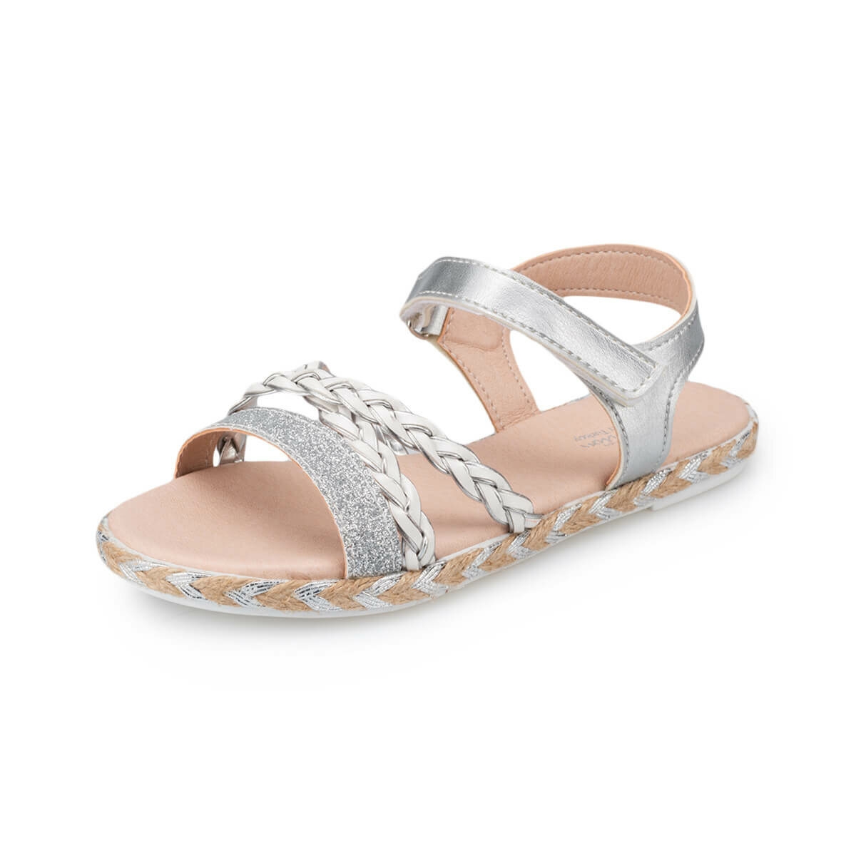 FLO 91. 511483.F Gold Female Child Sandals Polaris Sneakers     - title=