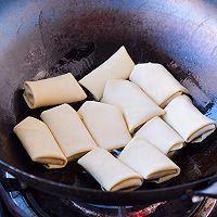 """#美食说出""""新年好""""#黄金豆皮卷的做法图解9"""