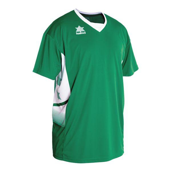 Футболка с короткими рукавами Luanvi Atlas Green