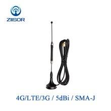 Antenne 4G LTE antenne CDMA GPRS GSM 3G routeur Wifi Vender antenne magnétique haut Gain Omni SMA mâle DTU WLAN antenne Z36 B4GSJ30