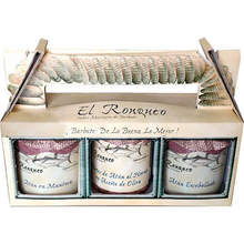 Selection of 3 fish canning specialties El Ronqueo | Assortment presented in box | Ideal for gift | Gourmet