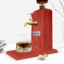 Tap Whisky Natural-Wood Stand-Red Goblet Gift Name Handmade Special-Design Written Reliable-Quality