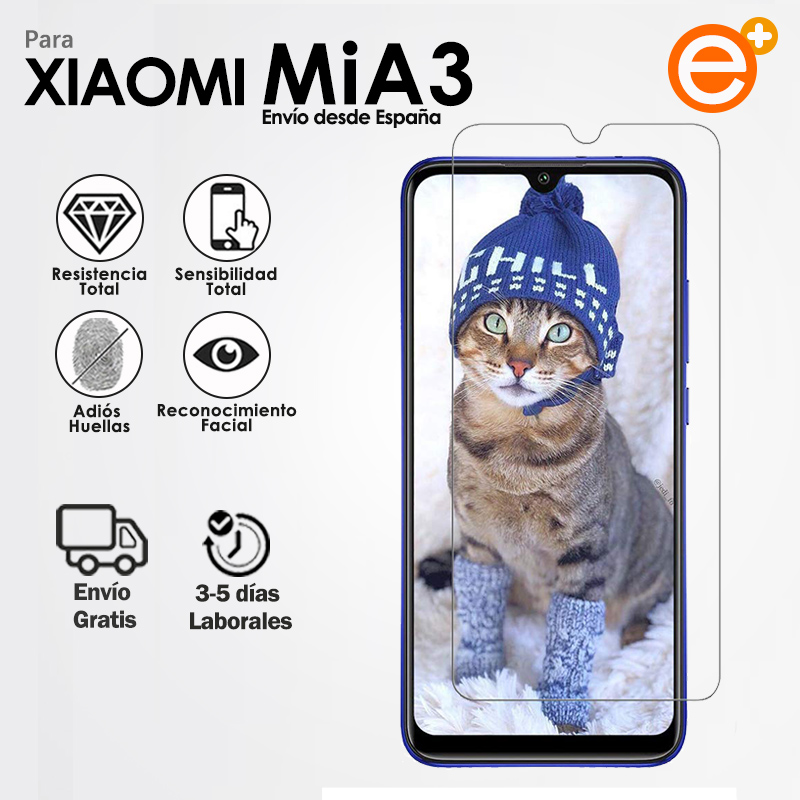 Tempered Glass Screen Protector for Mobile Xiaomi Mi A3 Security Glass Protection for Smartphone