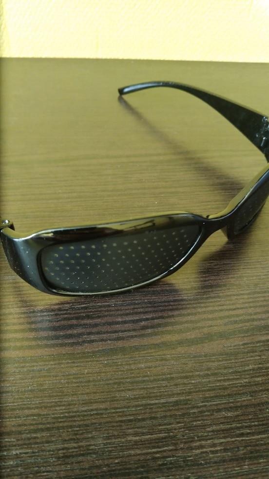 Cycling Eyewear Pin Hole Sunglass Eye Training Glass Pinhole Glasses Camping Unisex Eyeglasses Exercise Outdoor Improve Eyesight