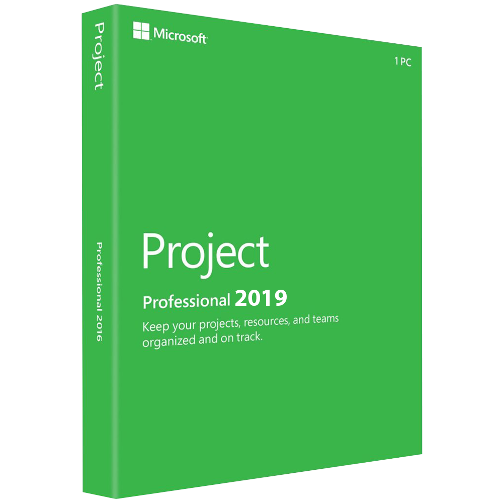 Microsoft Project 2019 Pro Professional (32/64 Bit) Activation Product Key 1 PC Project Microsoft