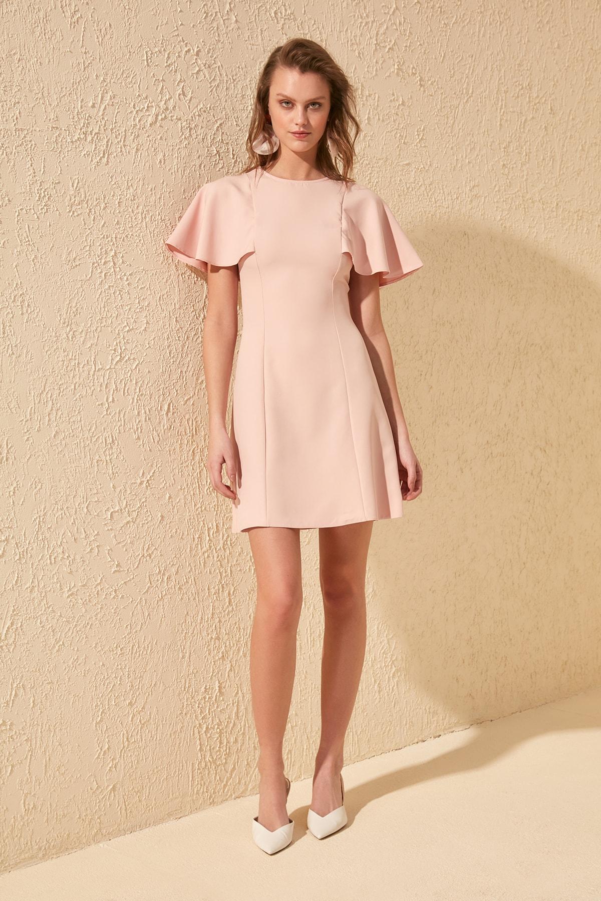 Trendyol Sleeve Detail Dress TWOSS20EL0996