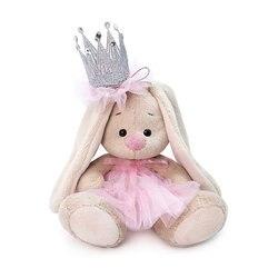 Soft toy Budi Basa Bunny met een kroon, 25 cm