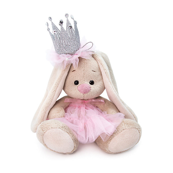 Soft Toy Budi Basa Bunny With A Crown, 25 Cm