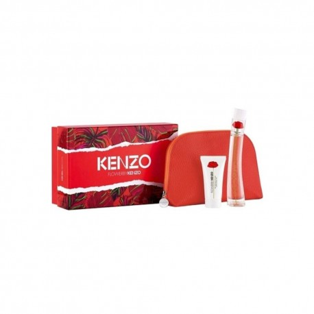 KENZO FLOWER EDP 50ML 50ML + BODY LOTION + BAG