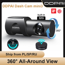 DDPAI Auto DVR Dash Cam Mini 3 1600P Auto Kamera Auto Stick Fahrzeug Video Recorder 2K Android Wifi smart 24H Parkplatz Kamera