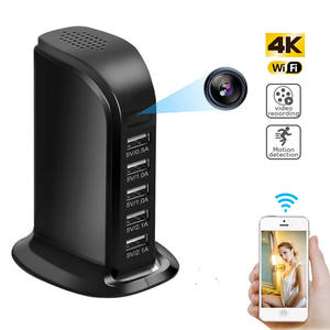 Mini Camera Camcorder Monitor Wall-Charger WIFI 1080P Wireless Smart USB HD 4K for Home