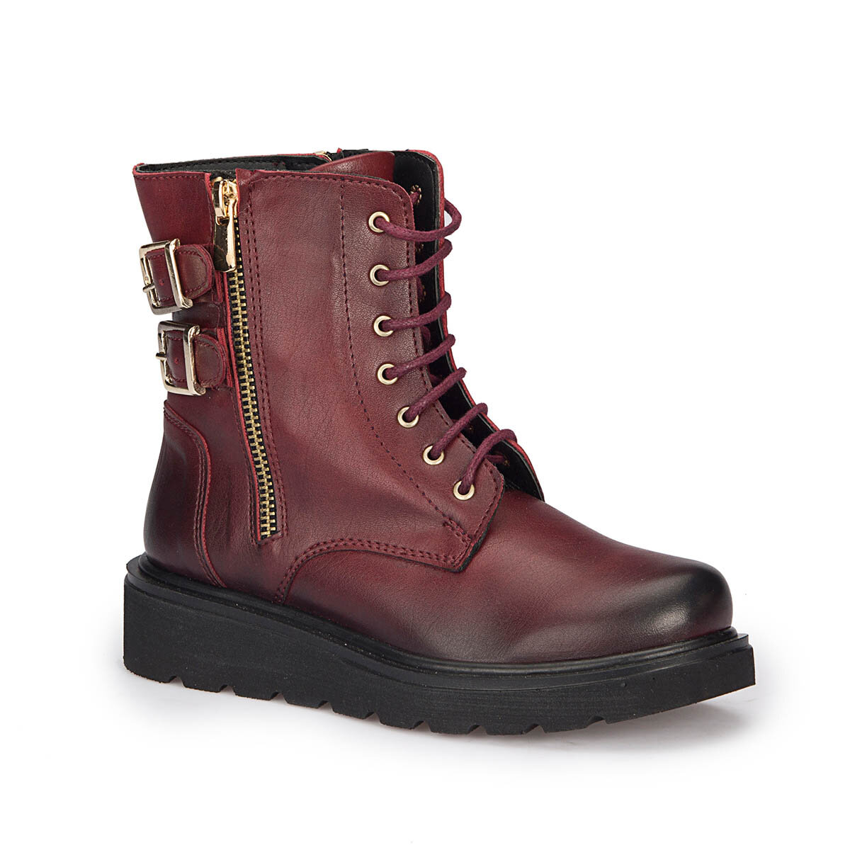 FLO 72.509673.F Burgundy Female Child Boots Polaris