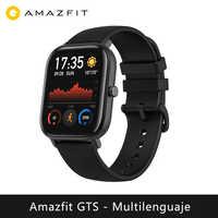 Смарт-часы Amazfit GTS (reloj inteligente mujer hombre gps bluetooth deporte exterior android IOS reloj xiaomi)[Versión Global]