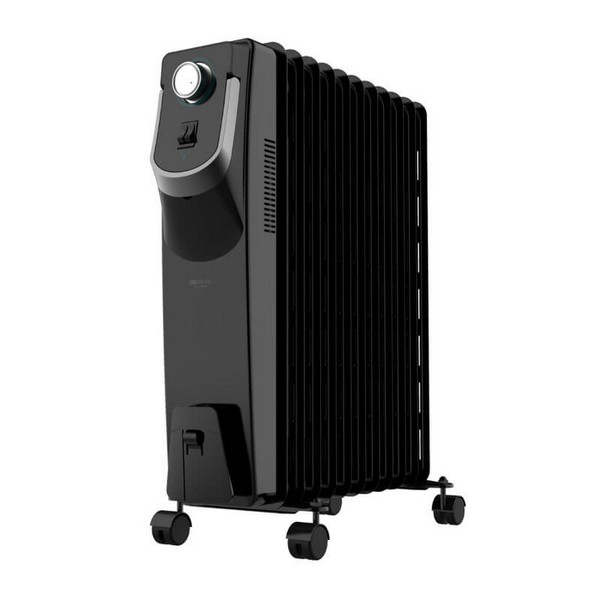 Oil-filled Radiator (11 Chamber) Cecotec Ready Warm 5870 Space 360º 2500W Black
