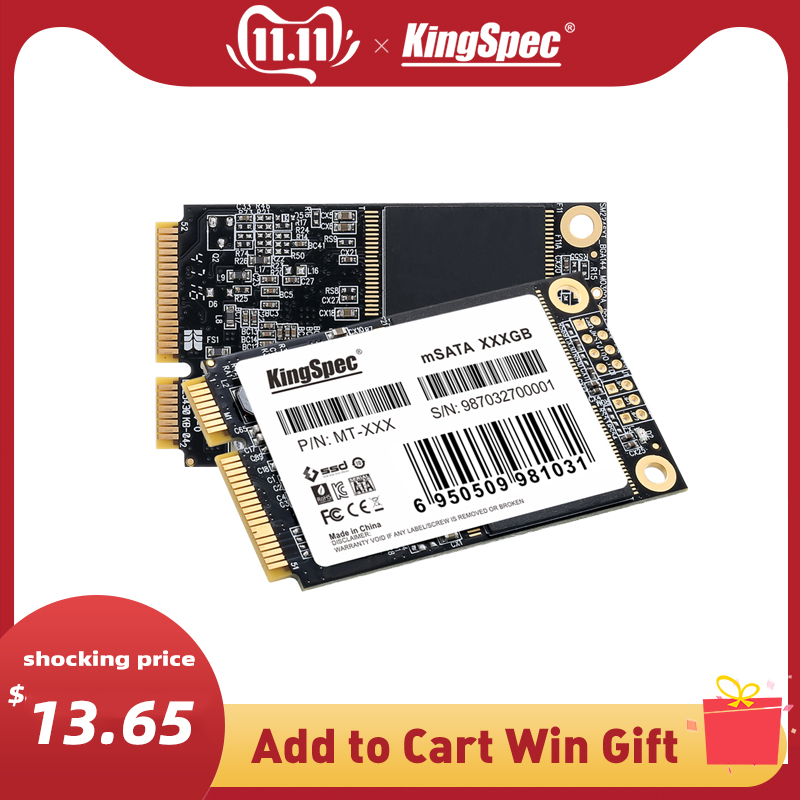 KingSpec mSATA <font><b>SSD</b></font> <font><b>120gb</b></font> 256GB 512GB Mini SATA <font><b>SSD</b></font> mSATA <font><b>SSD</b></font> 1tb Internal Hard Drive For Computer Laptop <font><b>SSD</b></font> For Dell ThinkPad image