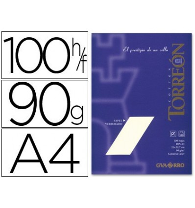 PAPER TORREON NEEDY A4 90 GRS PACK OF 100