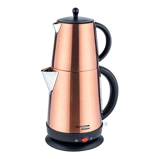 Awox Demplus Electric Teapot | Turkish Tea | Tea Machine | Water Heater | Teapot | Hot Tea