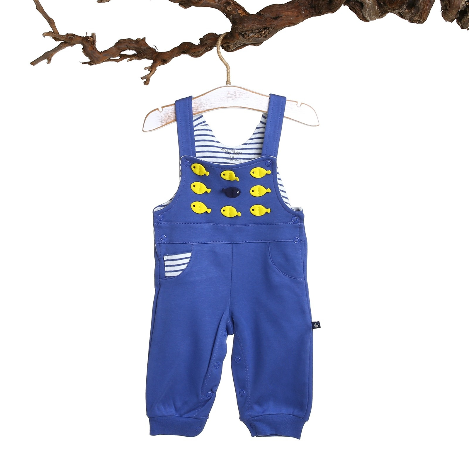Ebebek For My Baby Boy Fish Dungarees