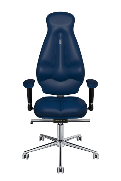 Office Chair KULIK SYSTEM GALAXY Blue Computer Chair Relief And Comfort For The Back 5 Zones Control Spine