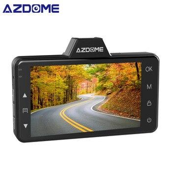 AZDOME M01 Car DVR 3-Inch 2.5D Screen 1080P HD Dash Cam 24H Park Monitor Dash Camera Recorder Night Vision G-sensor