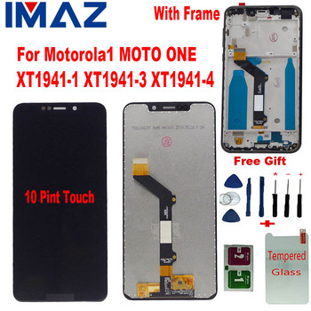 IMAZ 5.9 For Motorola Moto One P30 Play XT1941-1 XT1941-3 XT1941-4 LCD Display Touch Screen Display Assemble For Moto One LCD image