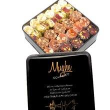 Sultan Luxury Turkish Delight Assortment Pistachio Gift Tin Box 2.2lb.