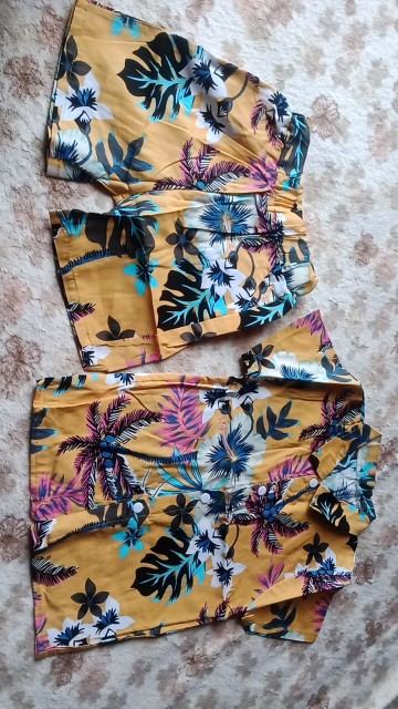 0-5Y Kids Baby Boy Clothes Boho Summer Floral Print Sets 2Pcs Short Sleeve T-Shirt Shorts Child Boy Beach Wear Outfits 12Styles photo review