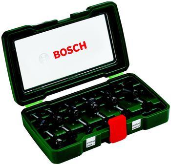 Set of milling cutters BOSCH 12 PCs shank 8mm (2.607.019.466)