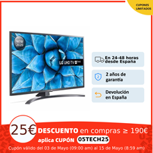 LG Serie 7, UN7100, UN7400 y UN7300 (con Magic Control), Smart TV 4K, 43, 49, 50