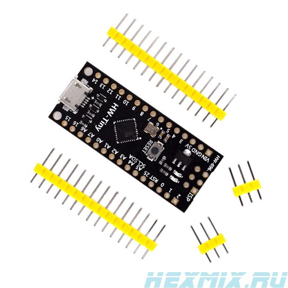 HW-tiny Attiny88 Debug Board 16 MHz