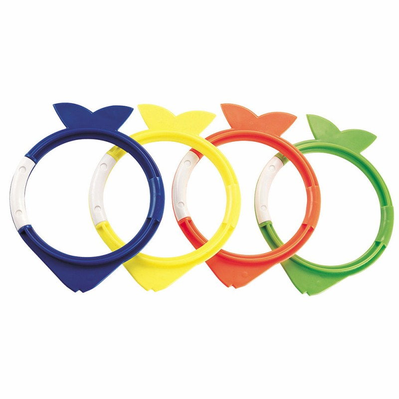 Set Of Rings For Pool Swimming Fish (4 PCs)