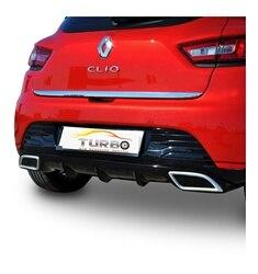 Renault Clio 4 HB хромированная Задняя Крышка багажника (2012-)