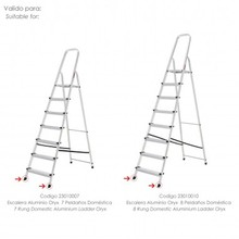 Bunk bed stairs aluminum Oryx front 7 and 8 steps