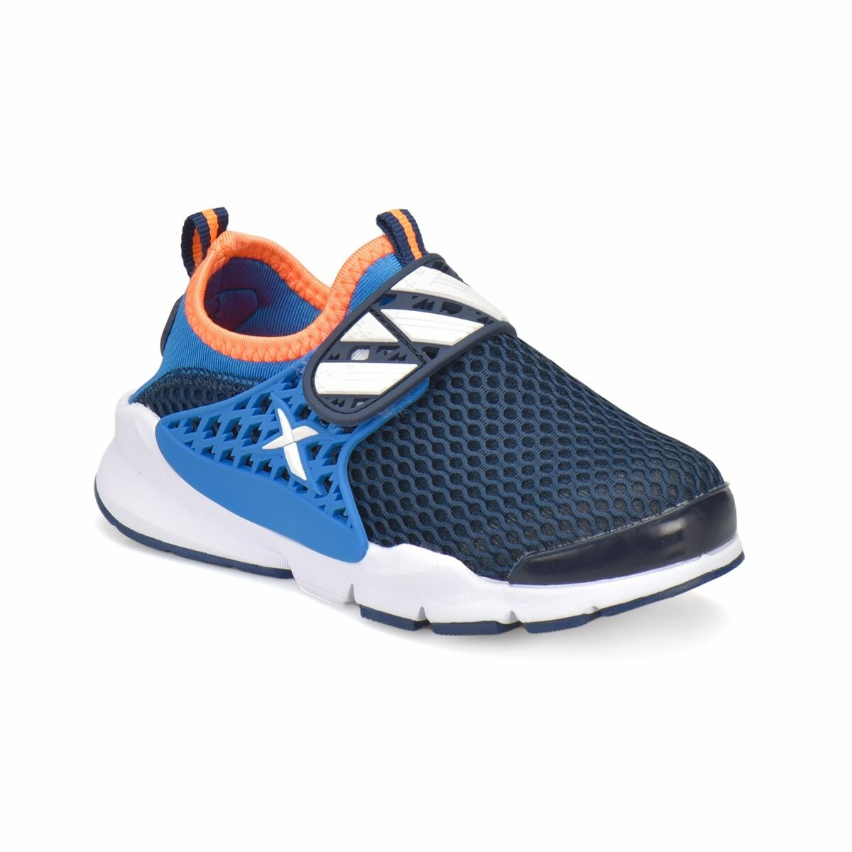 FLO MISAR Navy Blue Male Child Sneaker Shoes KINETIX