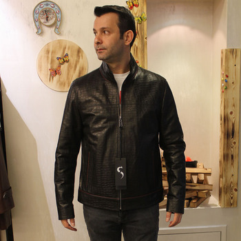 New collection Turkish genuine, genuine leather sports jacket, sheepskin casual style slim fit