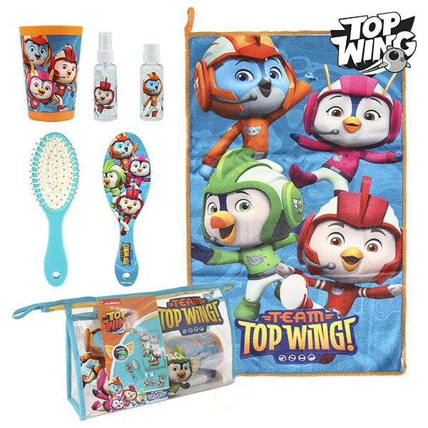 Child's Toiletries Travel Set Top Wing 72627 (6 Pcs) Turquoise