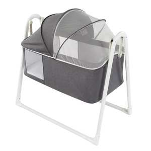 Cradle Jaju Baby Folding Plus Light-Gray Easy-Installation Dark-Grey Portable
