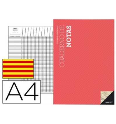 NOTEPAD ADDITIO A4 DISPOSITIONS COURSE AND EVALUATION CONTINUOUS IN CATALAN
