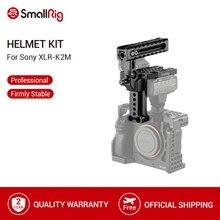 SmallRig Dslr Máy Ảnh Hàng Đầu Xử Lý Mũ Bảo Hiểm Xử Lý Kit đối với Sony A7RIII A7II A7 A9 Máy Ảnh Cage Phát Hành Nhanh Chóng Xử Lý Hàng Đầu grip 2080
