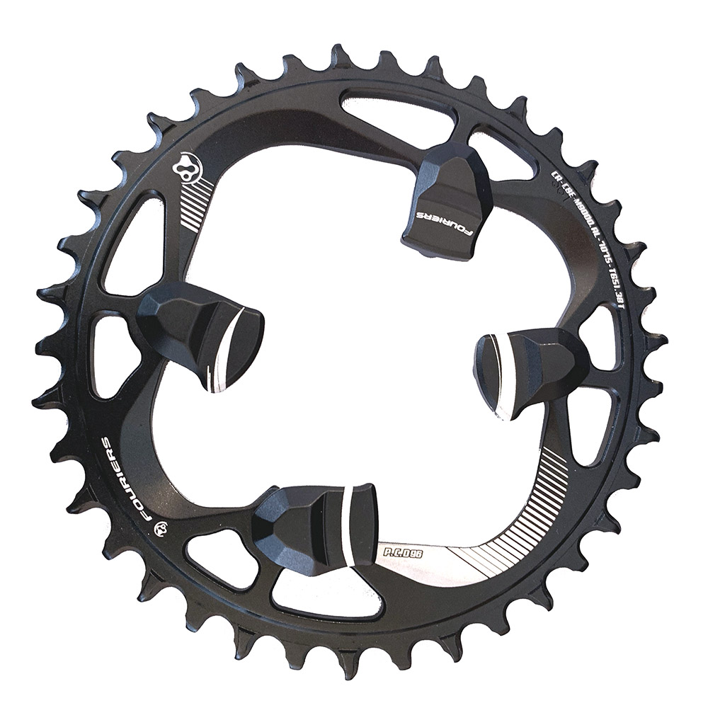 Fouriers BCD96mm MTB Bike Round Chainring /& Bolt 36//38//40T Fit m8000 XT cranks