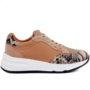 Image 2 - Moxee Women Sneakers  Crocodil Detailed Women Casual Shoes Very Comfortable Fashion Shoes Soft Famele Shoe