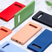Candy color case for Samsung Galaxy S10 s10e S10 plus case cover soft TPU silicone phone Coque
