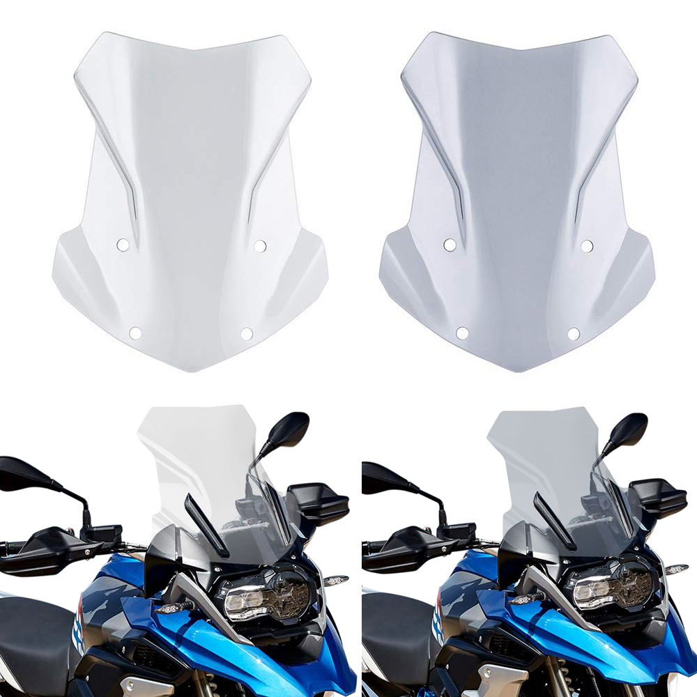 R1200GS R1250GS Windscreen Windshield For BMW R1200GS R 1200 GS LC R1250GS ADV Adventure Wind Shield Screen Protector Parts