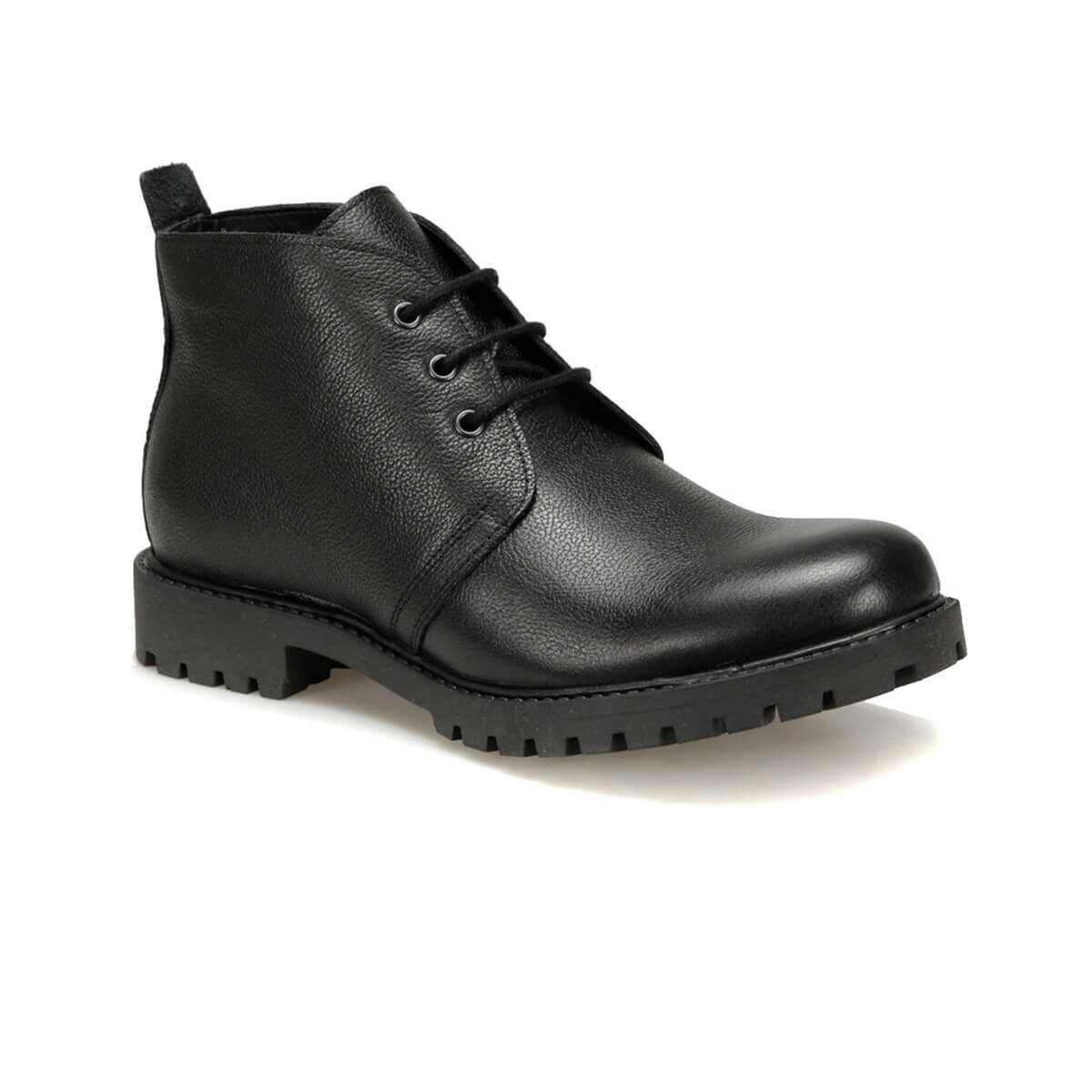 FLO RBT-1 Black Men Boots Forester