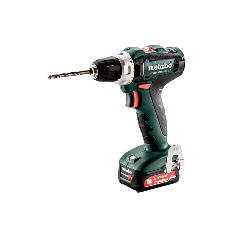 Drill a battery PowerMaxx BS 12 Mobile Workshop Metabo|Electric Drills| |  - title=