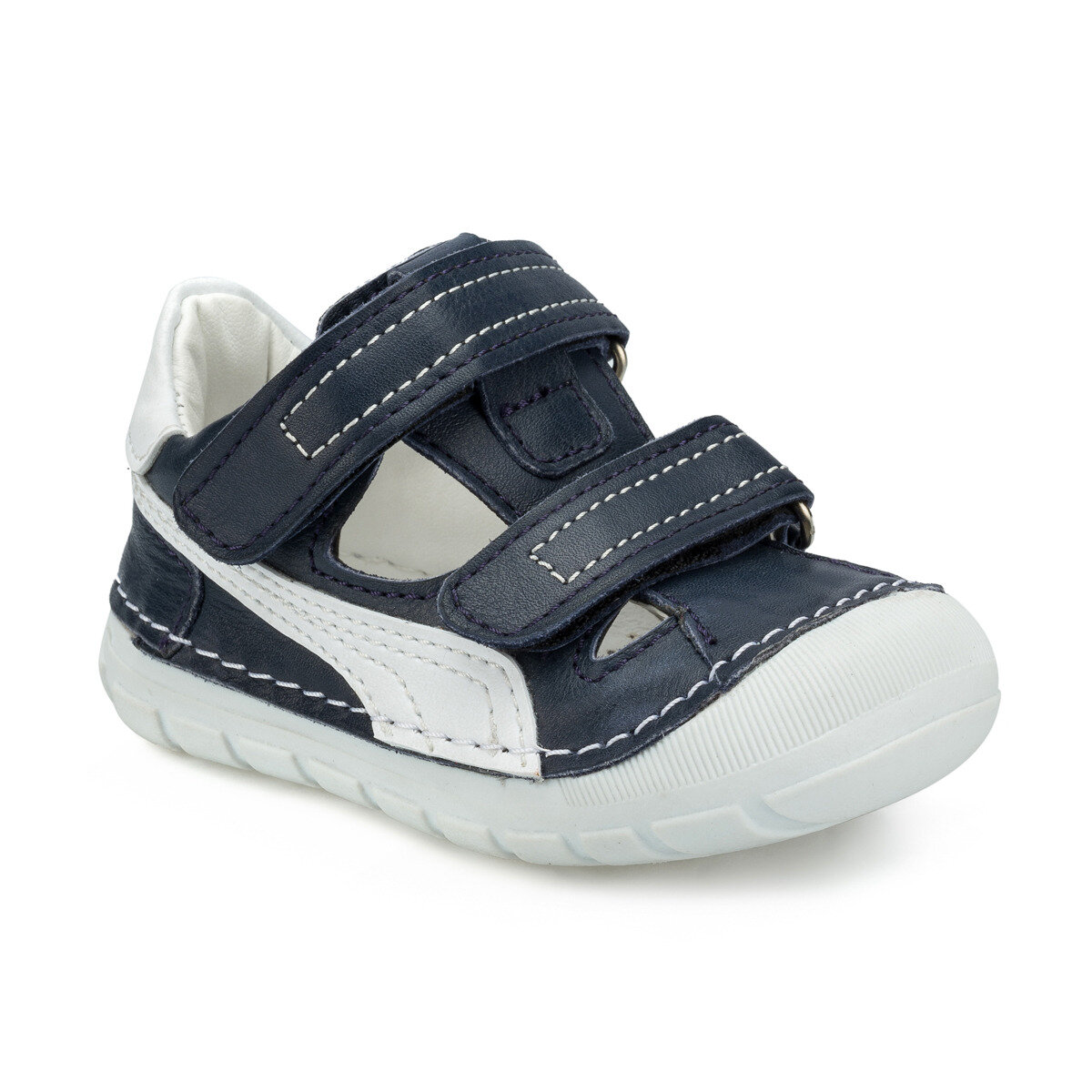 FLO 512205.I Navy Blue Male Child Sneaker Shoes Polaris|  - title=