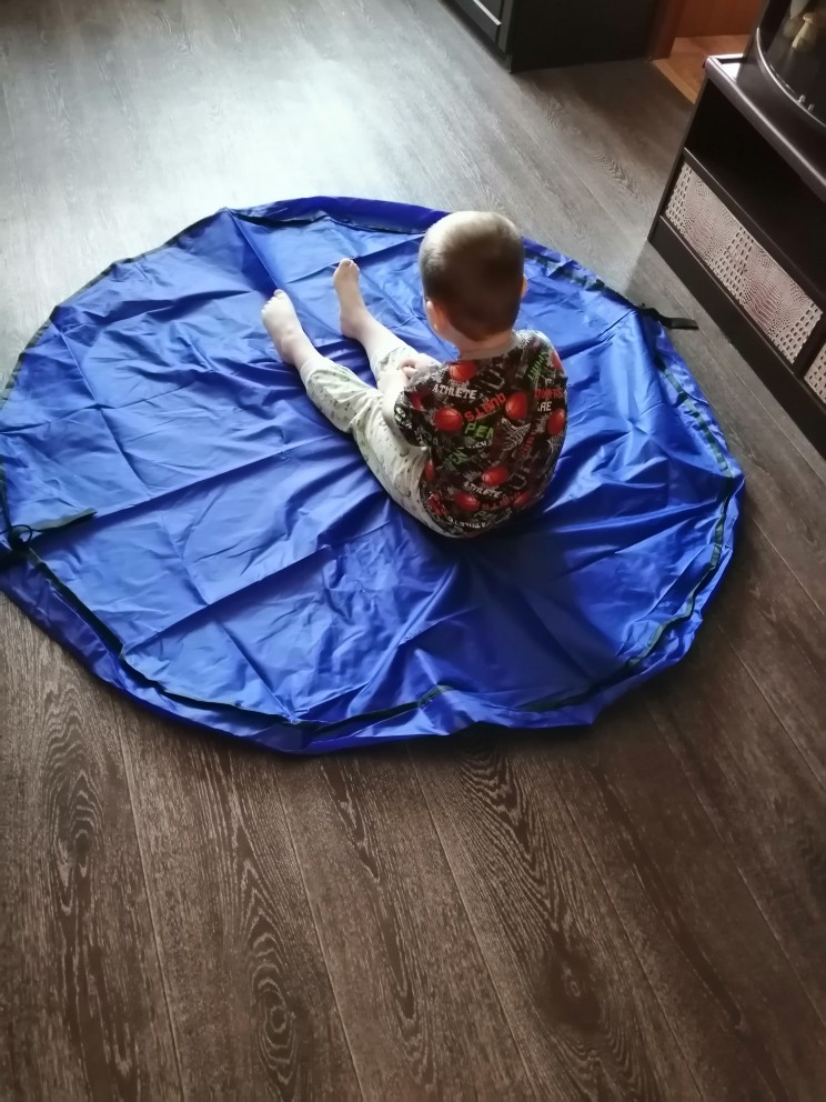 Portable Play Mat and Toy Storage Bag photo review