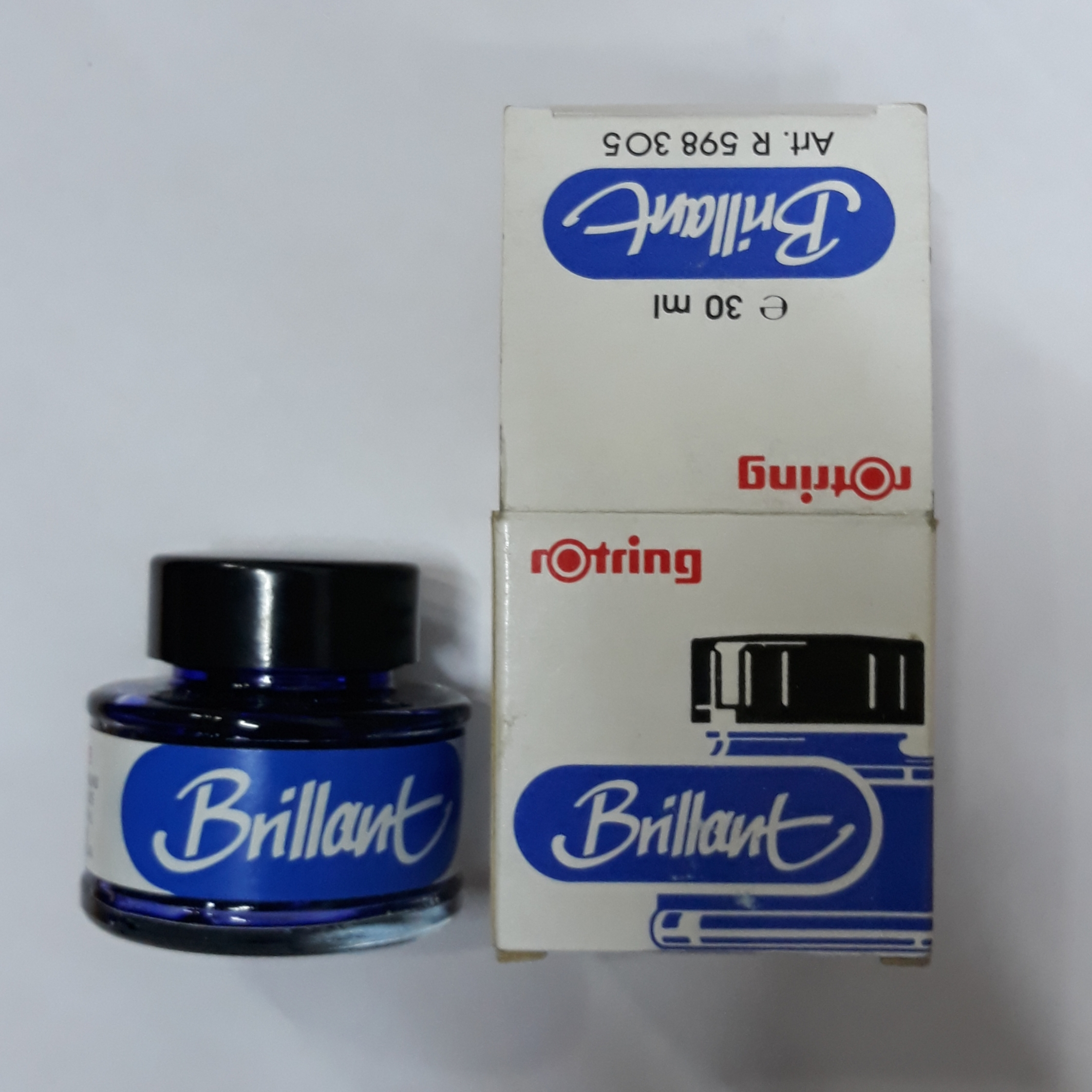 Rotring Brillant Ink Blue