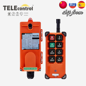 Image 1 - TELEcontrol UTING F21 E1B Industrial Radio Remote Control 12V 18 65V 65 440V AC DC Switches for Hoist Crane Lift